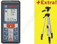 Лазерный дальномер Bosch GLM 80 + R150 06159940A1