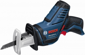 Аккумуляторная сабельная пила Bosch GSA 10.8V-LI (2х2.0 Ач в  L-BOXX)