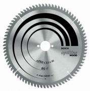 Диск пил. Bosch OptiECO 254x30x40