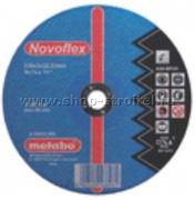 Диск отрезной сталь 115x2.5 прям. Novoflex