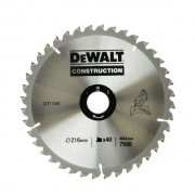 Диск пильный DeWalt DT1155