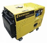 Генератор CHAMPION DG6500ES(5/5,5Квт) дизель