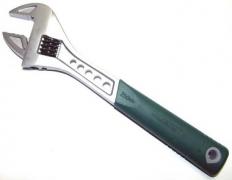 Ключ разводной эргономичный (пластиковая ручка) 0-29мм. L-250мм
