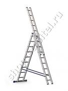 Лестница Алюмет 5309 3х9 (252/419/588см)
