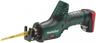 Аккумуляторная cабельная пила  Metabo PowerMaxx ASE (1,8 В; 2x4,0 Ач) 602264750