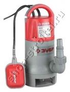 Насос ЗУБР ЗНПГ-900 погружной для грязной воды (14000л/ч,900Вт)