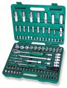 Набор торцевых головок 1/4DR 4-14 мм и 1/2DR 10-32 мм, 94 предмета