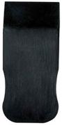 Шпатель STAYER резин.черн. 60мм 1015-60