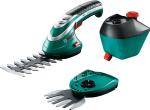 Аккумуляторные ножницы Bosch для травы ISIO 3 + насадка распылитель