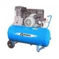 Компрессор с ременным приводом горизонтальный Remeza СБ 4/С- 50.LH 20 A (2.2 кВт 220в.)