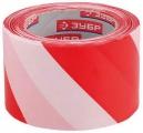 Лента сигнальная красно-белая 200м 12240-70-200