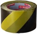 Лента сигнальная жёлто-чёрная 200м 12242-70-200
