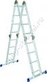 Лестница, 4 х 4 ступени, алюминиевая 97791