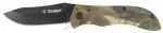 Нож ЗУБР складной походный 47705