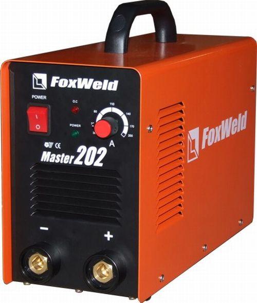 Сварочный инвертор FoxWeld Master 202 предназначен для ручной дуговой сварки штучным электродом на.