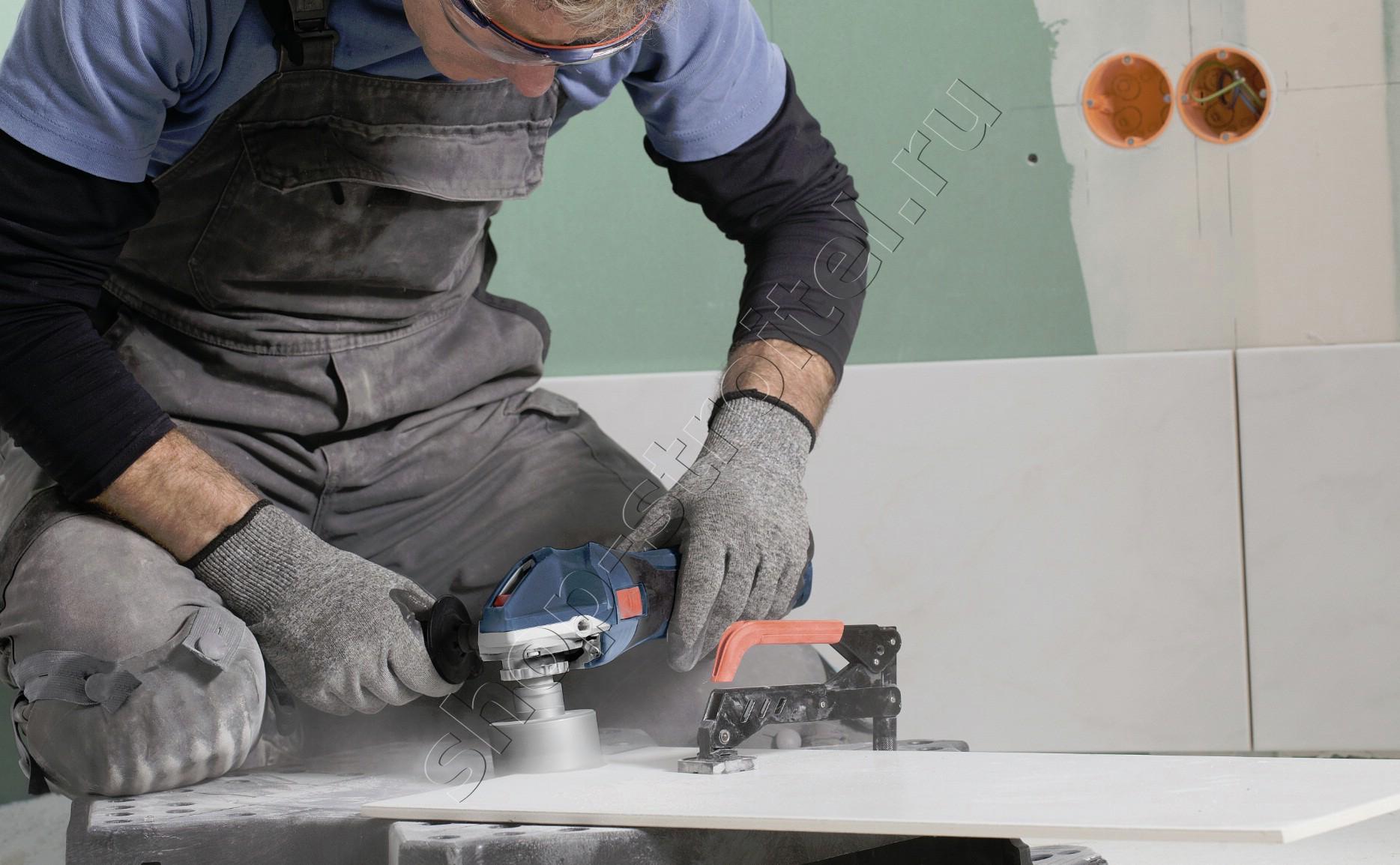 Увеличенная фотография Плиткорез-дрель Bosch GCT 115 Professional
