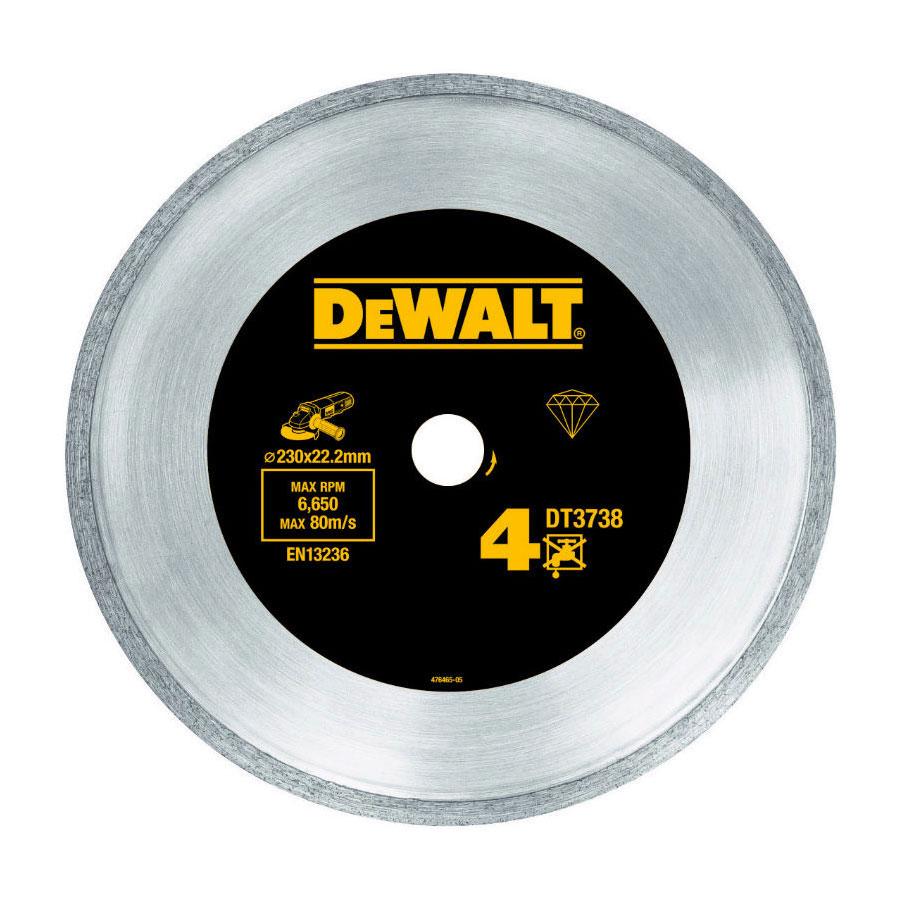 Увеличенная фотография Диск алмазный DeWalt DT3738