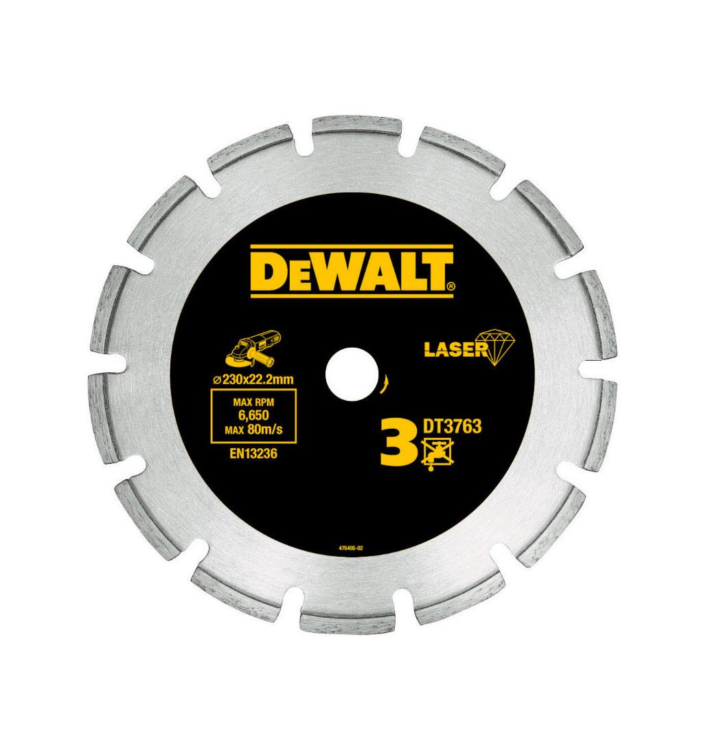 Увеличенная фотография Диск алмазный DeWalt DT3760