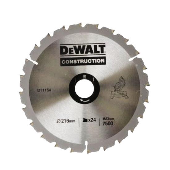 Увеличенная фотография Диск пильный DeWalt DT1154