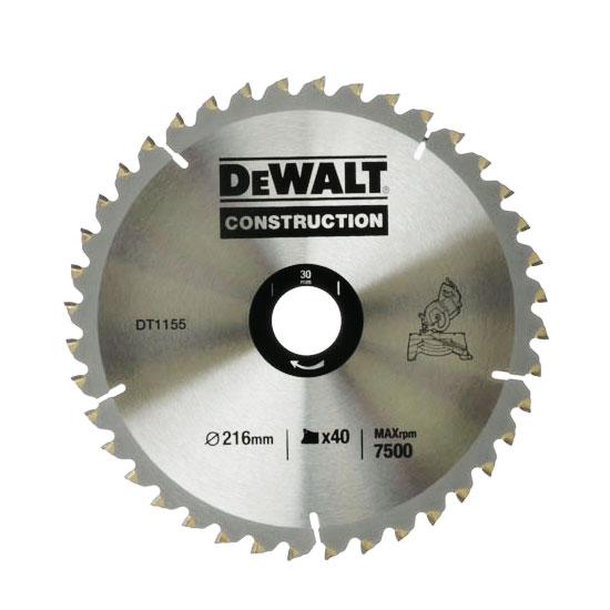 Увеличенная фотография Диск пильный DeWalt DT1155