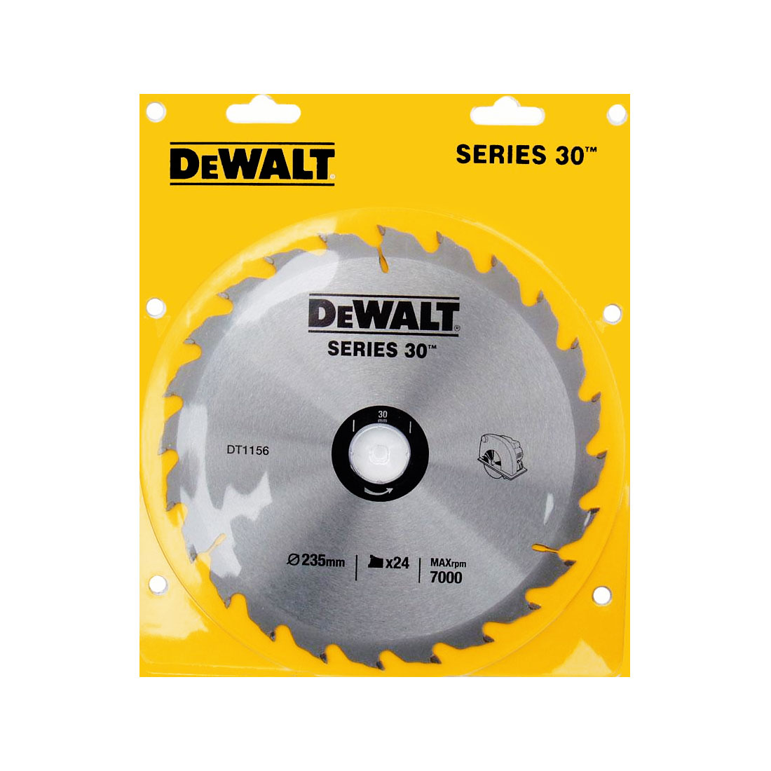 Увеличенная фотография Диск пильный DeWalt DT1156