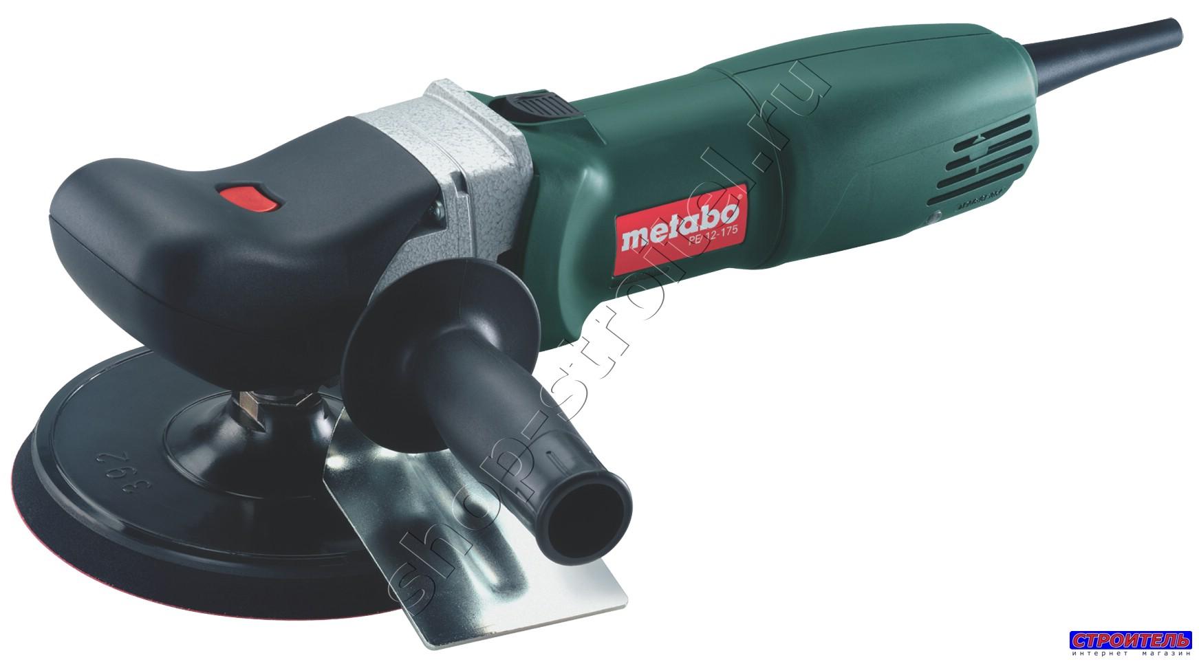 Увеличенная фотография Эл. полировальная машина Metabo PE 12-175 SET 602175910