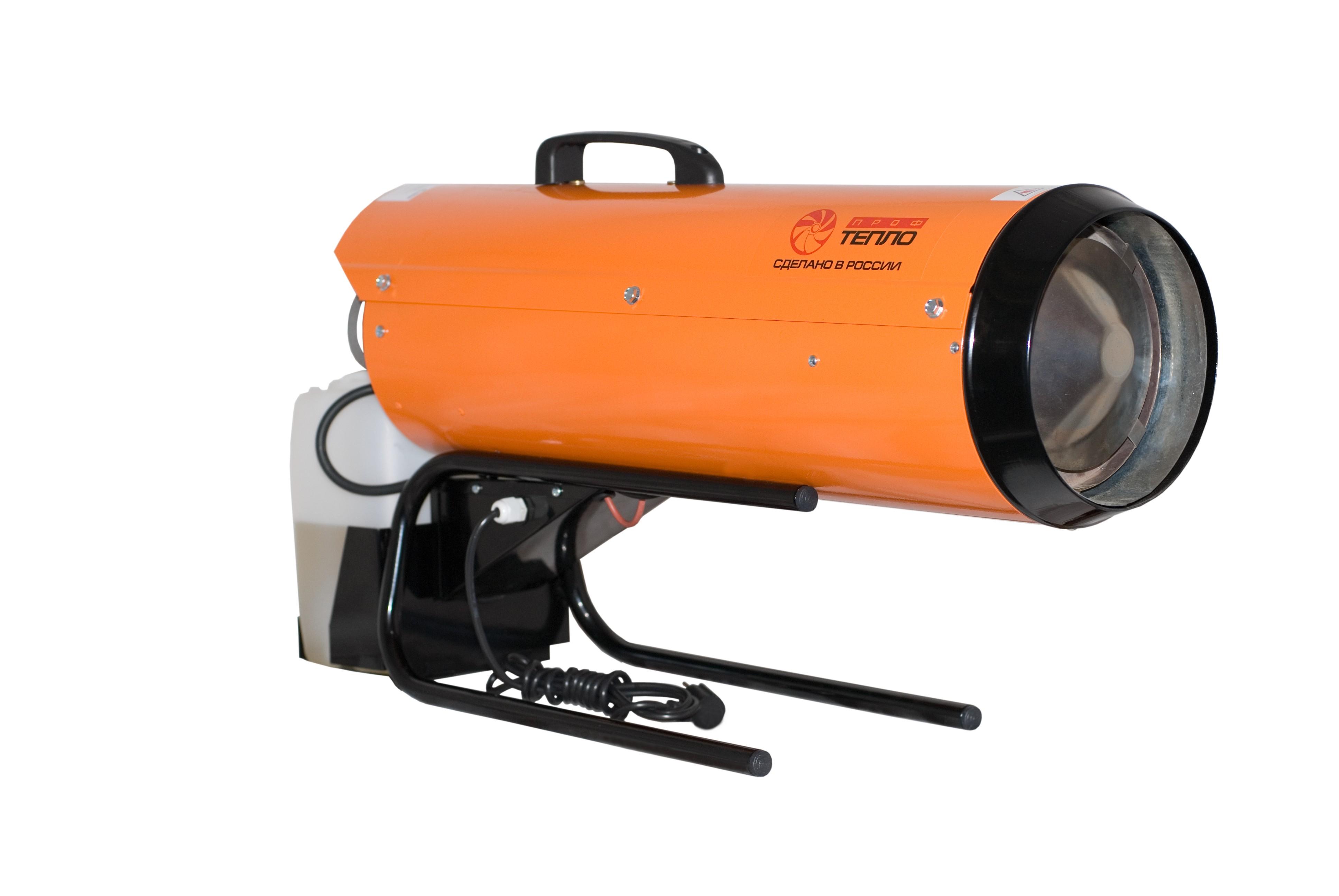 Увеличенная фотография Калорифер дизельный Профтепло ДК-26ПК апельсин