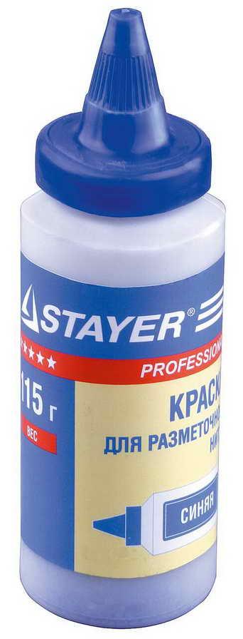 Увеличенная фотография Краска разметочная STAYER 115гр 2-06401-1 синяя