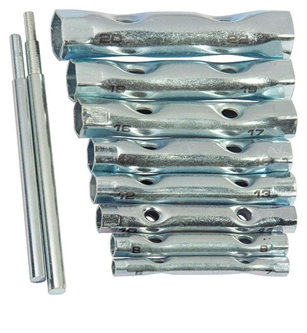 Увеличенная фотография Набор торцевых ключей-трубок Sparta 10шт. 137525