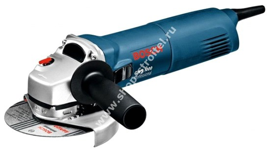 Увеличенная фотография Электрическая угловая шлифмашина Bosch GWS 1000