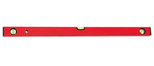 Увеличенная фотография Уровень алюминиевый Matrix 600 мм, 3 глазка, красный Matrix 33223